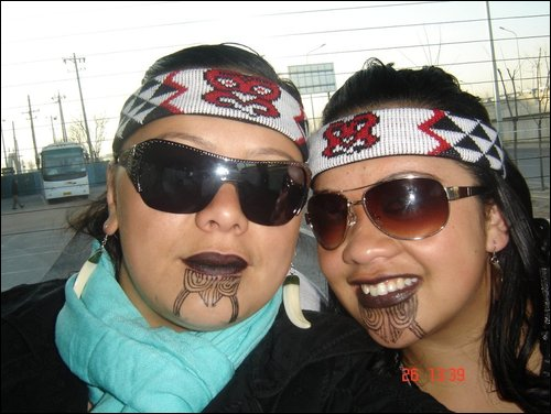 Nettie and Delysia Norman's trip to China