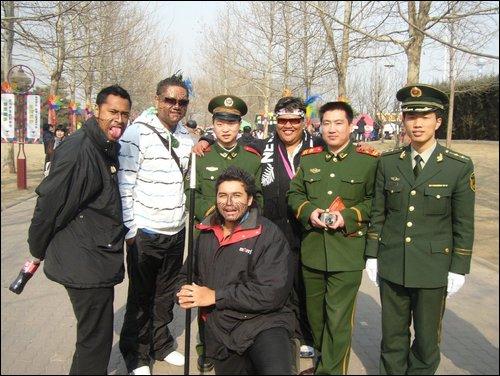 Kapa haka roopu to indigenous festival in Beijing